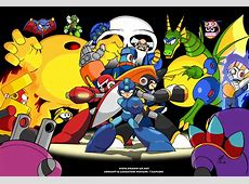 Mega Man 2 Wallpaper WallpaperSafari