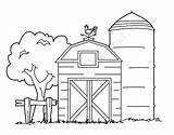 Barn Coloring Printable Farm Sheets Colouring Animal Animals Drawing Barns Preschool Fall Trucks Printables Keywords Crafts Discover Adult Viatico sketch template