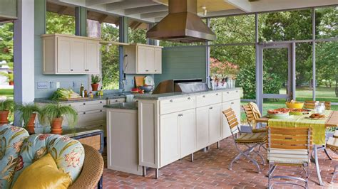 southern living kitchen designs ultimate outdoor kitchen design ideas southern living 5621