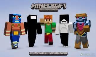 Minecraft Xbox 360 Skin Packs
