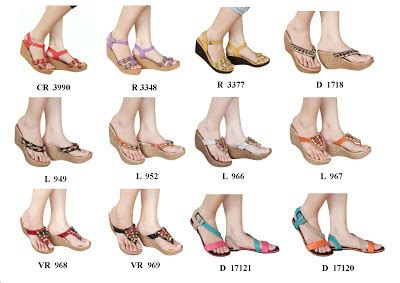 sandal dan sepatu wedges berkualitas sandal wedges etnik