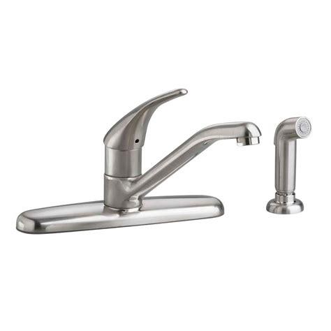kitchen single handle faucet pfister cadenza single handle standard kitchen faucet with