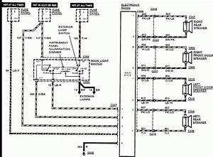 2000 Mustang Radio Wiring Diagram
