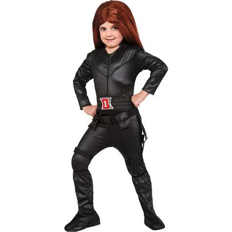 Girls Deluxe Black Widow Halloween Costume