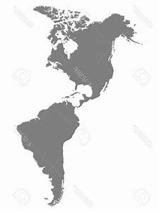 The Americas Map Vector | LaztTweet