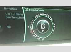 BMW Audio über Bluetooth , und Navi Code eingeben