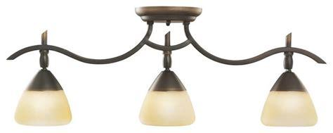 kichler olympia 3 light track lighting in olde bronze - Bathroom Vanity Track Lighting