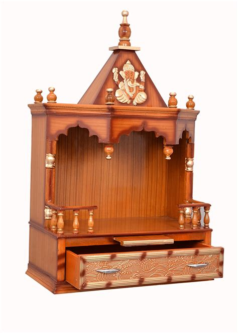 Design For Mandir In Home by Wooden Mandir Design For Home With Ftempo