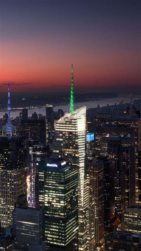 wallpaper times square  york manhattan sunset