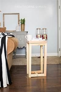 Simple, Diy, Wood, Side, Table