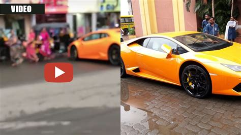 crashed lamborghini huracan video mla s wife crashes brand new lamborghini huracan