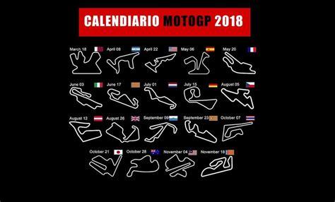 calendario motogp   tutte le date  orari dirette
