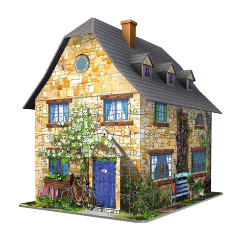 Cottage Inglese by Puzzle 3d Cottage Inglese Massa Giocattoli
