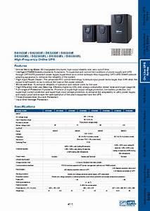 High-frequency Online Ups Ds1000el Manuals