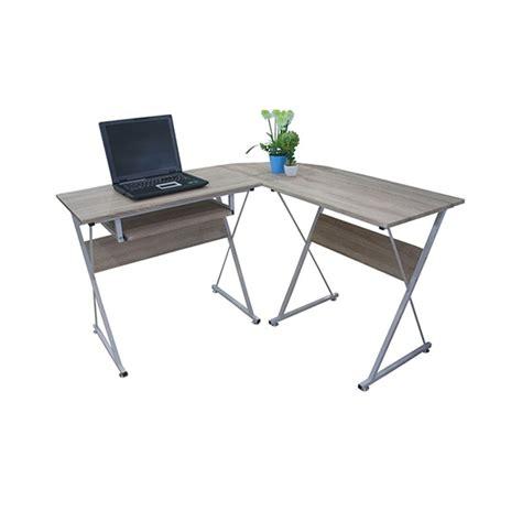 VERSION CT1265 โต๊ะคอมฯ เข้ามุม 120ซม. ลายไม้/ขาว