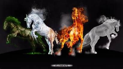 Elements Power Four Sweetlittlevampire Deviantart Horse Horses