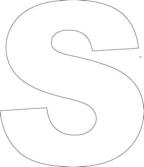 printable upper case alphabet template large cases