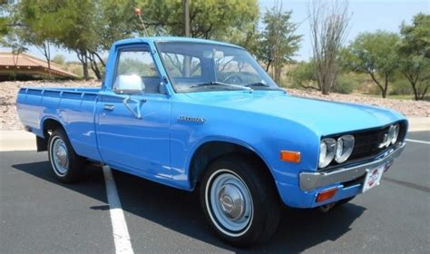 Original Arizona Truck: 1974 Datsun 620 Pickup