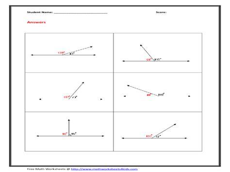 angle pairs worksheet worksheets ratchasima printable