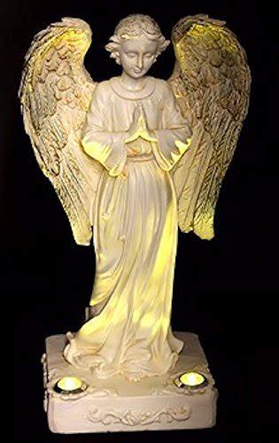beautiful praying solar angels   yellow led solar