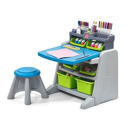 step 2 desk and stool kohl 39 s step2 flip doodle easel desk stool only 42 49
