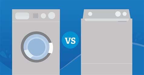 front load vs top load washer top load vs front load washers