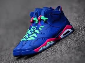 Pink and Blue Jordan 6
