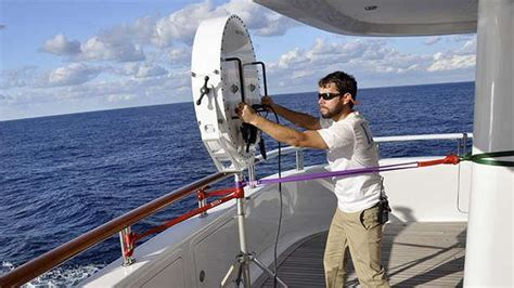 fitting   superyacht  maximum security boat