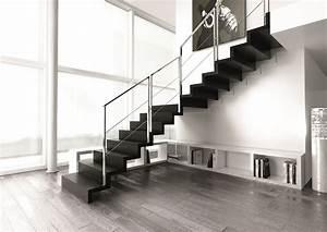 escalier en bois le luxe et le design dans la sobriete With des plans pour maison 7 garde corps escalier design et verriare sur mesure en