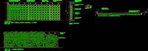 Vertical Garden - Details DWG Detail for AutoCAD • Designs CAD