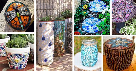 Mosaic Garden Ideas  Decorating Ideas