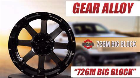 gear alloy 726m big block wheel