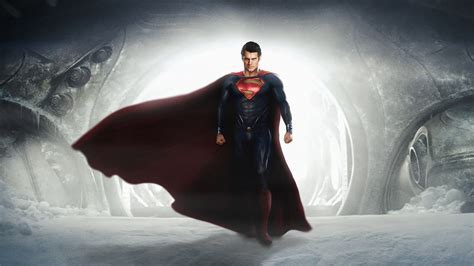Full HD Wallpaper man of steel hero muscles permafrost