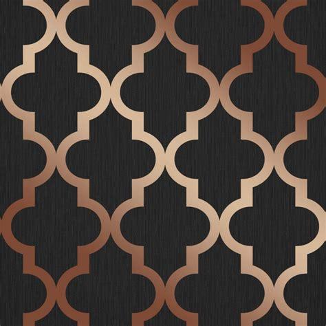 henderson interiors camden trellis wallpaper charcoal