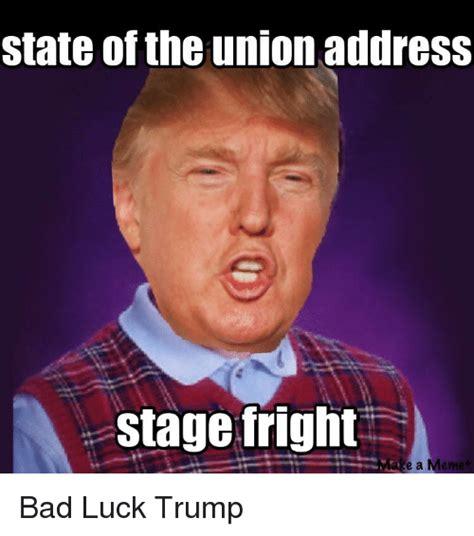 Union Memes - state of the union address stage friglht mas e a meme bad meme on me me