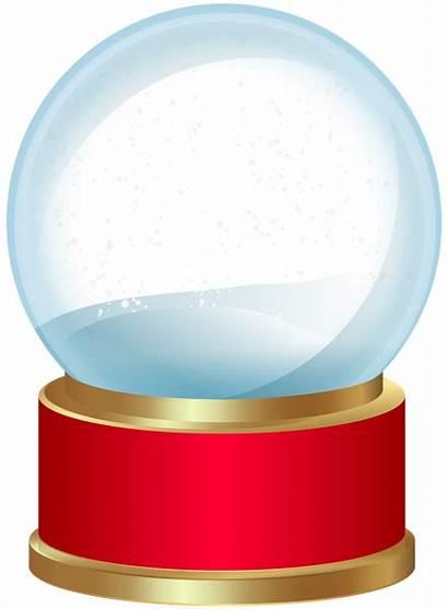 Snow Globe Empty Clip Clipart Christmas Transparent