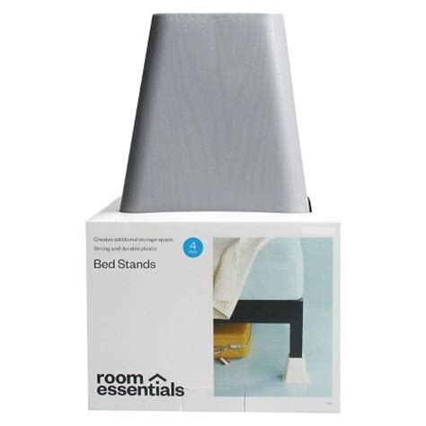 Bed Risers Target by Room Essentials Furniture Risers Grey Target