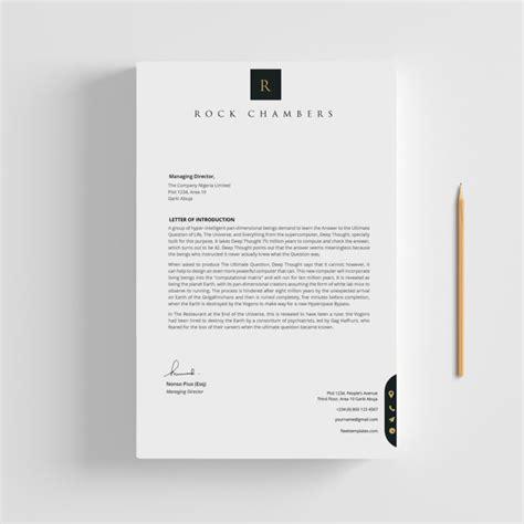 letterhead fleek templates   microsoft office