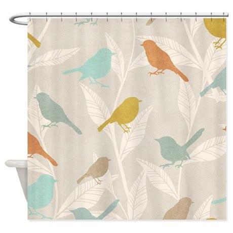 bird pattern shower curtain by bestshowercurtains