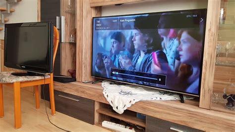tv wand 55 zoll hisense h55mec3050 138 cm 55 zoll fernseher ultra hd tuner smart tv unboxing review