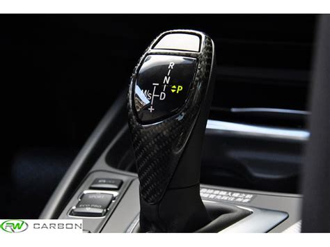 bmw carbon fiber gear selector cover f01 f06 f10 f13 f30 f32