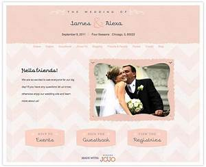 creative wedding website wedding jojo sponsored post With wedding video website