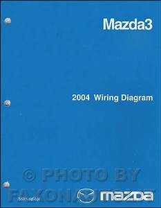 2004 Mazda3 Repair Shop Manual Original
