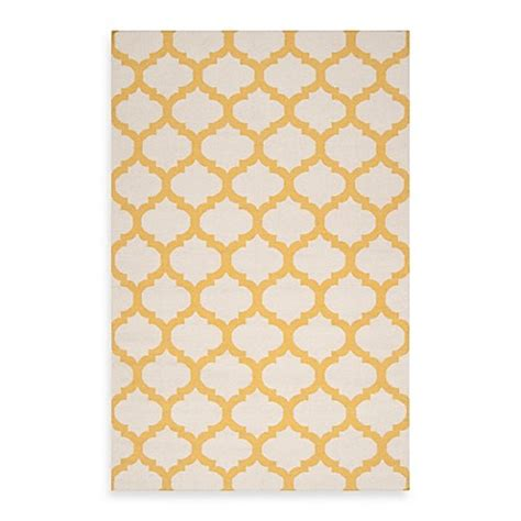 gold and white rug surya evesham rug in golden yellow white bed bath beyond