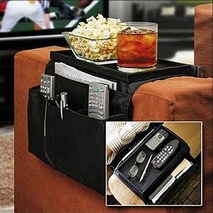 Couch buddy remote control holder sofa arm rest organizer for Couch potato sofa buddy