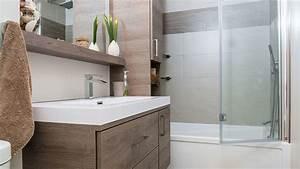 But Salle De Bain : salle de bain contemporaine avec lavabo spacieux ~ Dallasstarsshop.com Idées de Décoration