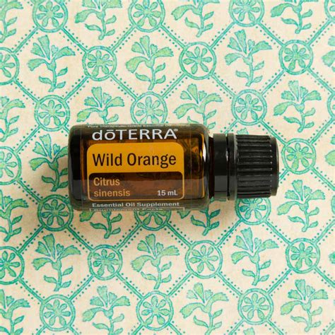 wild orange oil   benefits doterra essential oils