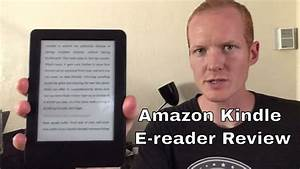 "All-New Kindle E-reader Review 2016 Model Black 6"" Glare ..."