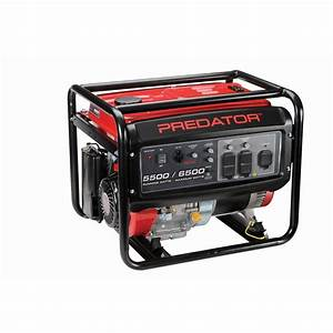 6500 Watt Max Starting Gas Powered Generator