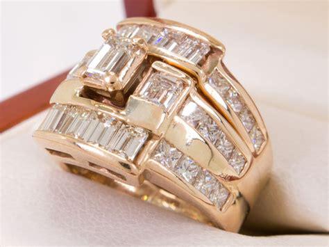ct  ct solitaire elegant diamond ring set  reserve price catawiki